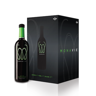 aging well with hope and a positive attitude, monavie active